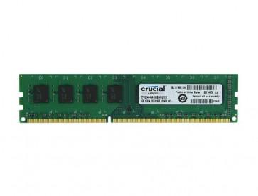 CT102464BA160B - Crucial 8GB DDR3-1600MHz PC3-12800 non-ECC Unbuffered CL11 240-Pin DIMM Memory Module