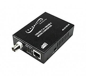 TRANSITION J/E-CX-TBT-02-NA - NETWORKS JUST CONVERT-IT STAND-ALONE MEDIA CONVERTER - MEDIA CONVERTER - 10MB LAN