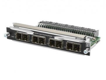 JL084A - HP Quad-Ports Stacking Module for Aruba 3810M Switch