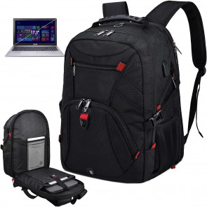 Laptop Backpack Large 17 Inch Anti Theft TSA Friendly Travel Backpack
