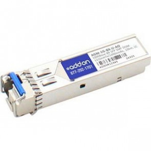 AddOn Netgear AGM-1G-BX-U Compatible TAA Compliant 1000Base-BX SFP Transceiver