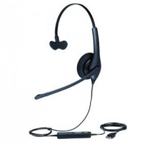 Jabra 1519-0157 - Biz 1500 Duo Stereo 20Hz Quick Disconnect Headset