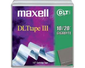 Maxell 183670 - DLT III - 10 GB / 20 GB - Data Cartridge Media Tape