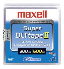 Maxell 183715 - SDLT-II - 300GB / 600GB - Data Cartridge Storage Tape