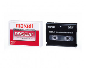 Maxell 186592 - HS-8/CL - DAT Cleaning Cartridge Tape