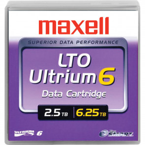 maxell_229558_2.5tb_6.25tb_lto_6_media_data_tape