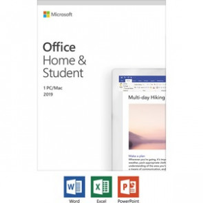 79G-05011 MICROSOFT OFFICE - HOME AND STUDENT 2019 - LICENSE - 1 PC/MAC