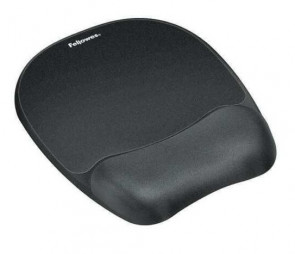 Fellowes 9176501 - Jersey Cover - Wear Resistant Memory Foam Mouse Pad