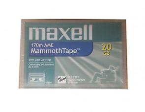 Maxell AME1 - AME Mammoth-1 - 20GB/40GB - Data Cartridge Media Tape