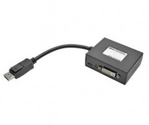 TRIPP LITE B157-002-DVI - 2-PORT DISPLAYPORT TO DVI VIDEO SPLITTER 1080P 1920 X 1080 60HZ - VIDEO SPLITTER - 2 PORTS