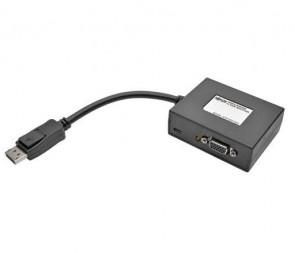 TRIPP LITE B157-002-VGA - 2-PORT DISPLAYPORT TO VGA VIDEO SPLITTER 1080P 1920 X 1080 60HZ - VIDEO SPLITTER - 2 PORTS