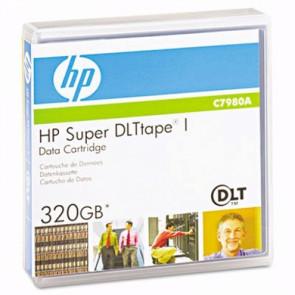 HP C7980A SDLT 1 160GB / 320GB Data Cartridge Media Tape