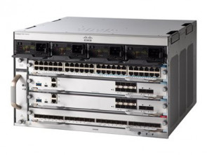 Cisco Catalyst C9404R Rack-mountable Ethernet Switch