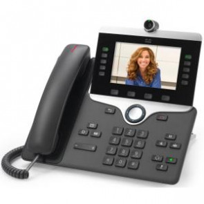 CISCO CP-8845-K9 IP PHONE 8845 - IP VIDEO PHONE - WITH DIGITAL CAMERA, BLUETOOTH INTERFACE