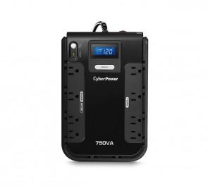 CP750LCDTAA - CyberPower Intelligent LCD 4-Outlets 4 x NEMA 5-15 420-Watts 120V Desktop UPS