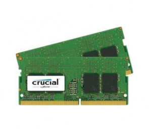 CT2K8G4SFD824A - Crucial 16GB Kit (2 X 8GB) DDR4-2400MHz PC4-19200 non-ECC Unbuffered CL17 260-Pin SoDIMM Dual Rank Memory Module
