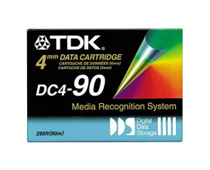 tdk_dc4-90rbx_dds-1_4mm_2gb_4gb_data_cartridge_tape