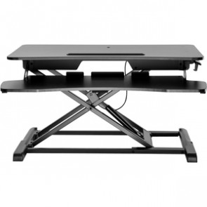 V7 DT2SSB-1N Sit-Stand Essential Desktop Workstation