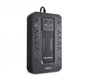 EC750GTAA - CyberPower Ecologic 12-Outlet 12 × NEMA 5-15R 450-Watts 120V Standby UPS