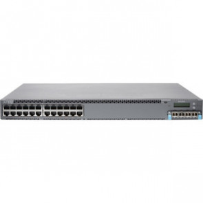 JUNIPER EX4300-24T - EX SERIES - SWITCH - 24 PORTS - MANAGED - RACK-MOUNTABLE