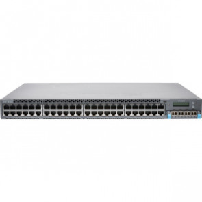 JUNIPER EX4300-48P - EX SERIES - SWITCH - 48 PORTS - MANAGED - RACK-MOUNTABLE