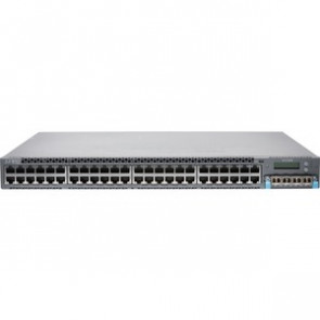 JUNIPER EX4300-48T - EX SERIES - SWITCH - 48 PORTS - MANAGED - RACK-MOUNTABLE