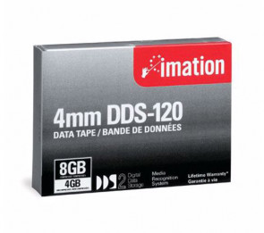 Imation 43347 - DDS-2 - 4mm - 4GB / 8GB - Data Cartridge Tape
