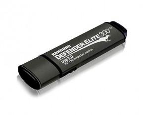 Kanguru KDFE300-16G - Defender Elite300 16GB 256-Bit SuperSpeed USB 3.0 Flash Drive