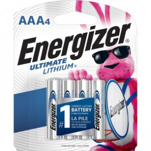 Energizer L92SBP-4 - 1.5V 1.25Ah Ultimate Lithium Battery (4-Pack)