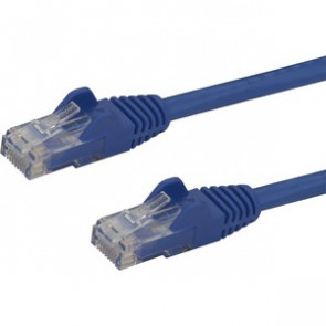 STARTECH N6PATCH5BL - CAT 6 SNAGLESS PATCH CABLE - PATCH CABLE - 5 FT - BLUE