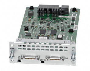 NIM-2T - Cisco 2-Port Serial WAN Network Interface Card for 4400 Series Integrated Services Router