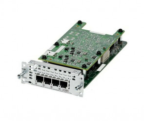 CISCO NIM-4FXO FOURTH-GENERATION NETWORK INTERFACE MODULE - VOICE / FAX MODULE
