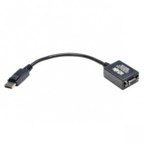 "TRIPP LITE P134-06N-VGA - 6 IN DISPLAYPORT TO VGA ADAPTER ACTIVE CONVERTER DP TO VGA M/F 6"" - DISPLAY ADAPTER"
