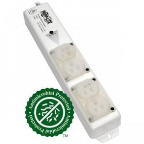 Tripp Lite PS-415-HGULTRA Power Strip Hospital Medical 120V 4 Outlet UL60601-1 UL60950-1 Metal