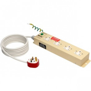 Tripp Lite PS410HGUK UK BS-1363 Medical-Grade Power Strip with 4 UK Outlets
