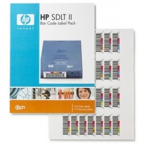 HP Q2006A - SDLT-II - Bar Code Label - 100 Pack