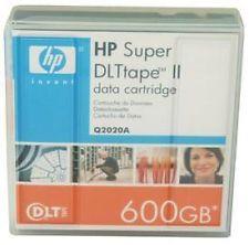 HP Q2020A - SDLT-II - 300GB / 600GB - DATA CARTRIDGE STORAGE TAPE