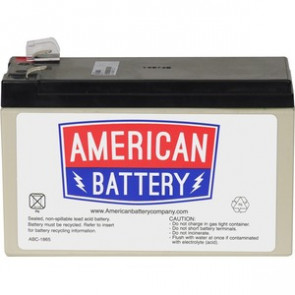 APC RBC17 - REPLACEMENT BATTERY CARTRIDGE #17 - UPS BATTERY - LEAD ACID