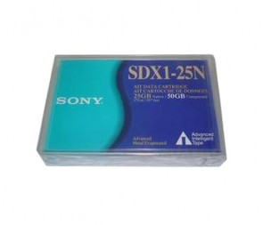 Sony SDX1-25N - AIT-1 - 25GB / 50GB - Data Cartridge Media Tape