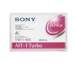 Sony TAIT1-40C - AIT-1 Turbo - 40GB / 104GB - Data Cartridge Tape