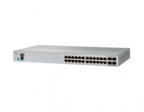 WS-C2960L-24TS-LL - Cisco Catalyst 2960L 24-Ports 10/100/1000Base-T RJ-45 Manageable Layer4 Switch with 4x SFP+ Ports