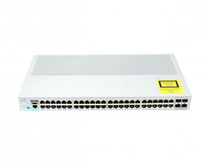 WS-C2960L-48TS-LL - Cisco Catalyst 2960-L 48-Ports 10/100/1000Base-T RJ-45 Manageable Layer4 Switch with 4x SFP+ Ports