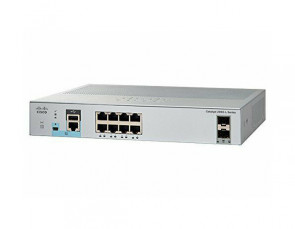 WS-C2960L-8TS-LL - Cisco Catalyst 2960-L 8-Ports 10/100/1000Base-T RJ-45 Manageable Layer4 Switch with 4x SFP+ Ports