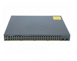 WS-C2960X-48FPD-L - Cisco Catalyst 2960x Series 48-Ports 10/100/1000 Ethernet Port Lan Switch with 2x SFP+ Uplink Ports