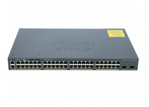 WS-C2960X-48TD-L - Cisco Catalyst 10Gbps 48-Ports 10/100/1000Base-T 2 Layer Supported Ethernet SFP+ Switch
