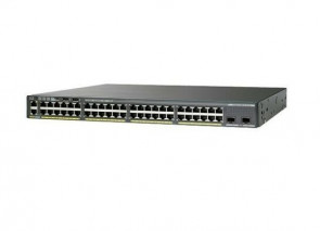 WS-C2960XR-48TD-I - Cisco Catalyst 2960X 48-Ports 10/100/Mbps 2 x SFP Gigabit L3 Managed Ethernet Switch