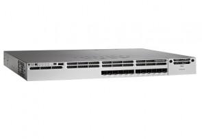 WS-C3850-12XS-S - Cisco Catalyst 3850-12XS-S 12-Port 12 x 10 Gigabit SFP+ Managed Switch