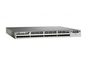 WS-C3850-24XS-E - Cisco Catalyst 3850 Series 24-Ports SFP+ 10GBase-X Manageable Layer3 Rack-mountable 1U Switch