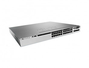 WS-C3850-24XU-E - Cisco Catalyst 3850 Series 24-Ports UPoE 10GBase-T Manageable Layer3 Rack-mountable 1U Switch