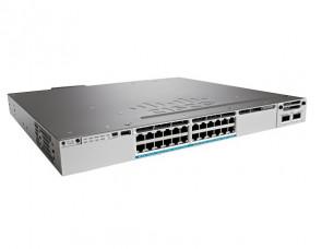 WS-C3850-24XU-L - Cisco Catalyst 3850-24XU-L 24-Port 24 x 10GBase-T (UPOE) managed Switch